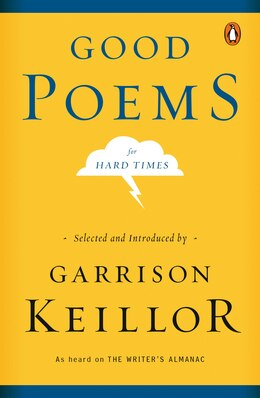 Book Good Poems For Hard Times by Garrison Keillor