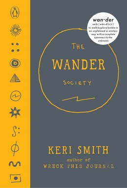 Book The Wander Society by Keri Smith