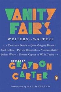 Book Vanity Fair's Writers On Writers by Graydon Carter
