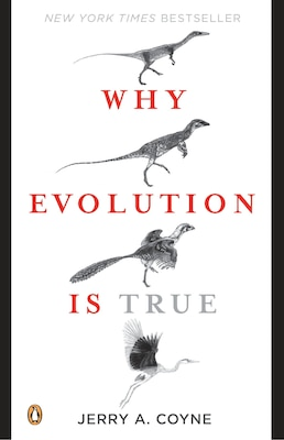 Book Why Evolution Is True by Jerry A. Coyne