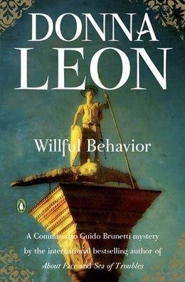 Book Willful Behavior by DONNA LEON