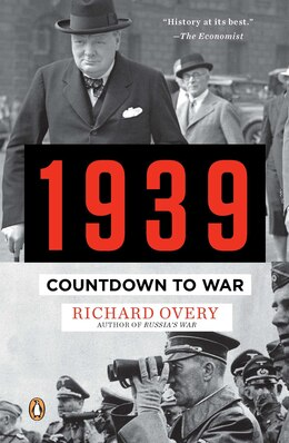 Book 1939: Countdown To War by Richard Overy