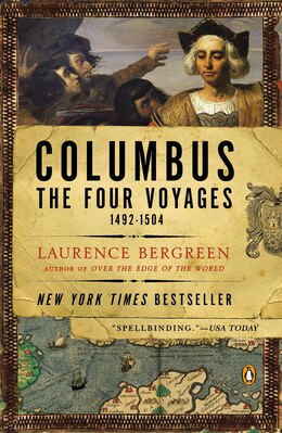 Book Columbus: The Four Voyages, 1492-1504 by Laurence Bergreen