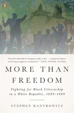 Book More Than Freedom: Fighting For Black Citizenship In A White Republic, 1829-1889 by Stephen Kantrowitz