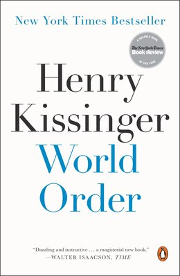 Book World Order by Henry Kissinger