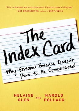 Book The Index Card: Why Personal Finance Doesn?t Have To Be Complicated by Helaine Olen