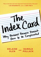 Book The Index Card: Why Personal Finance Doesn't Have To Be Complicated by Helaine Olen