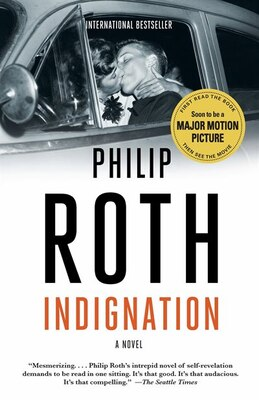 Book Indignation by Philip Roth