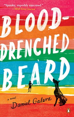 Book Blood-drenched Beard by Daniel Galera