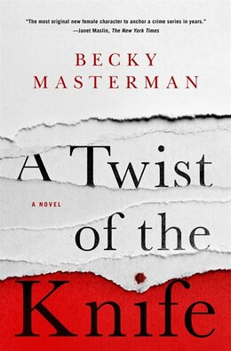 Book A Twist Of The Knife by Becky Masterman