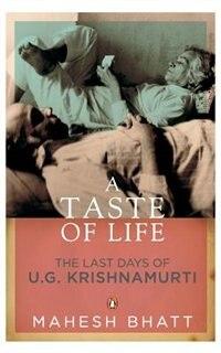 Book A Taste of Life by Mahesh Bhatt