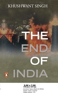 The End of India by Khushwant Singh