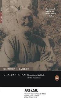 Book Ghaffar Khan by Rajmohan Gandhi
