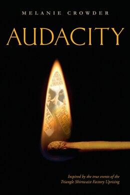 Book Audacity by Melanie Crowder