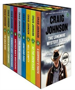 Book The Longmire Mystery Series Boxed Set Volumes 1-9: The First Nine Novels by Craig Johnson