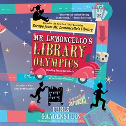 Book Mr. Lemoncello's Library Olympics by Chris Grabenstein