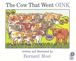 Book The Cow That Went OINK by Bernard Most