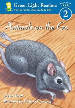 Book Animals On The Go by Jessica Brett