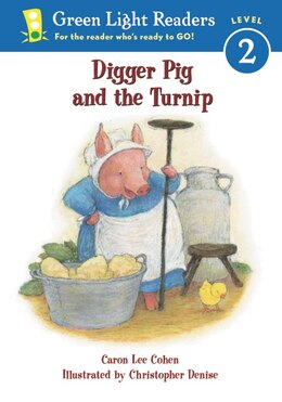 Book Digger Pig And The Turnip by Caron Lee Cohen