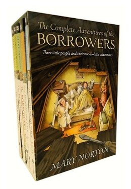 Book The Complete Adventures of the Borrowers by Mary Norton