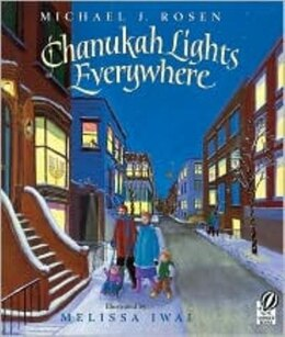 Book Chanukah Lights Everywhere by Michael J. Rosen