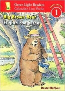 Book El gran oso pardo/Big Brown Bear: Green Light Readers, Level 1 by David McPhail