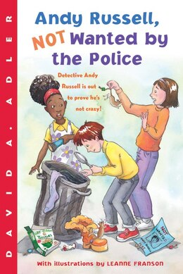 Book Andy Russell, Not Wanted By the Police by David A. Adler