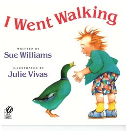 Book I Went Walking by Sue Williams