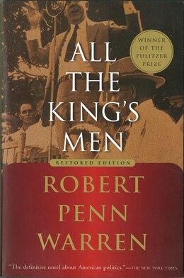 Book All the King's Men by Robert Penn Warren