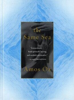 Book The Same Sea by Amos Oz