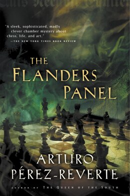 Book The Flanders Panel by Arturo Perez-Reverte