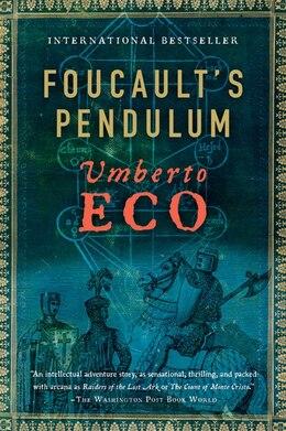 Book Foucault's Pendulum by Umberto Eco