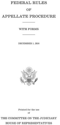 Book Federal Rules Of Appellate Procedure With Forms: December 1, 2016 by Government Publishing Office