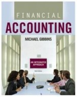 Book Student Solutions Manual For Financial Accounting by Michael Gibbins