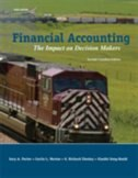 Book Financial Accounting: The Impact On Decision Makers by Gary A Porter