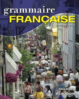Book Grammaire Française by Jacqueline Ollivier
