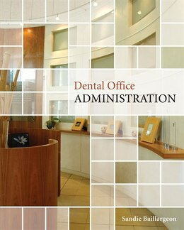 Book Dental Office Administration by Sandie Baillargeon