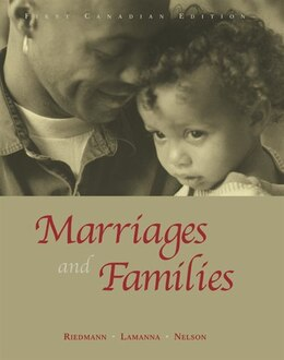 Book Marriages and Families: First Canadian Edition by Agnes Riedmann