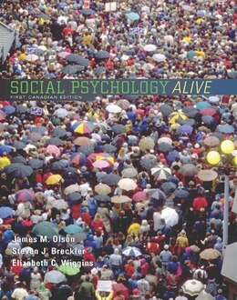 Book Social Psychology Alive! by James M. Olson M. Olson
