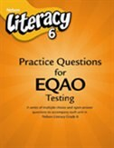 Book Nelson Literacy On 6: Practice Questions For Eqao by Jennette MacKenzie