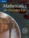 Book Mathematics For Everyday Life 10 Nova Scotia Edition: Student Text by Enzo Carli