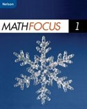 Book Nelson Math Focus 1: Student Workbook by Marian Small