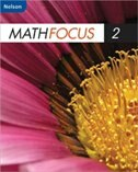 Book Nelson Math Focus 2: Student Workbook by Marian Small