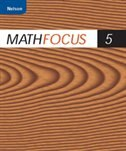 Book Nelson Math Focus 5: Student Workbook by Marian Small