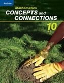 Book Mathematics Concepts and Connections 10: Student Workbook by Stewart Craven