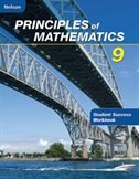 Book Nelson Principles Of Mathematics 9: Student Success Workbook by Marian Small