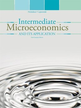 Book Intermediate Microeconomics and its Applications by Walter Nicholson