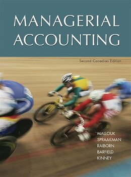 Book Managerial Accounting by Brenda Mallouk