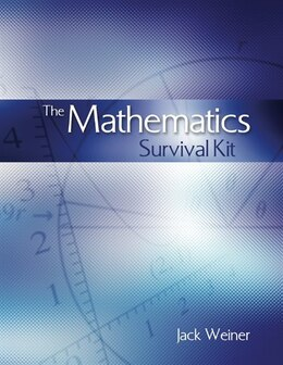 Book The Mathematics Survival Kit by Jack Weiner
