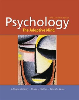 Book Psychology: The Adaptive Mind by D. Stephen Lindsay